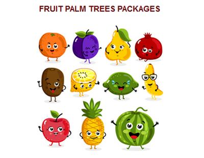 fruitpalm-trees