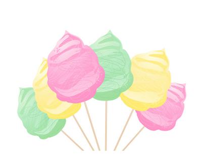 candy-floss