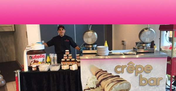 Crepe Bar Hire