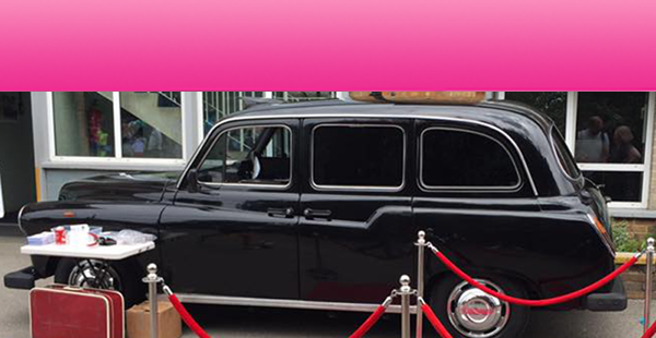Taxi Photo Booth Hire