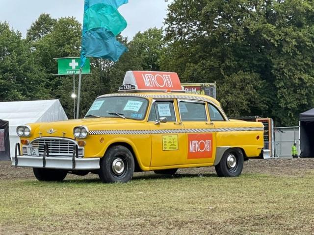 New York taxi photobooth